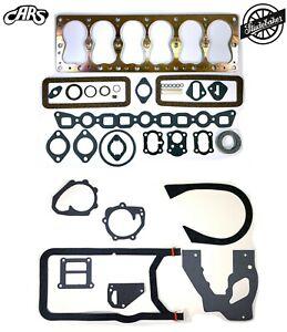 1936-1950 Studebaker 218 226 245 | Full Engine Gasket Set | Copper | Best Gasket