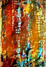 More details for abstract acrylic painting modern art original wall art contemporary artwork