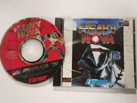 SEGA MEGACD MEGA CD HEAVY NOVA IMPORT JAPAN USADO BUEN ESTADO