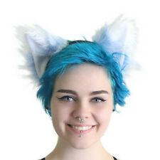 PAWSTAR Furry Fox Ears - Headband Cosplay Pastel Baby Blue [BFF/WH]3953