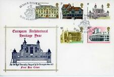 GB 1975 Architecture, Unusual Royal Observatory illustrated FDC