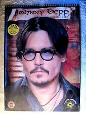 BEAUTIFUL - NEW WITH STICKERS - 2013 - JOHNNY DEPP WALL CALENDAR - GREAT PHOTOS!