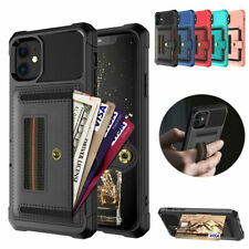 Fr iPhone 12 Pro Max 11 Xs 8 7 6 Plus Leather Card Slots Wallet Stand Case Cover
