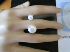 Pearl Alloy Beauty Costume Rings