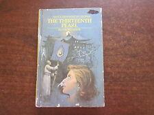 THE THIRTEENTH PEARL by Carolyn Keene Nancy Drew 1980 Collins HC Book #50