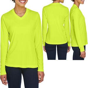 Ladies Long Sleeve Fishing T-Shirt UPF 40+ Women UV Moisture Wicking XS-XL 2X 3X
