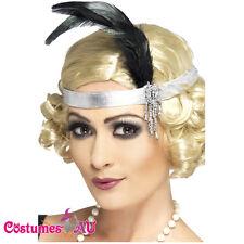 20s Flapper Charleston headband 1920s Headpiece Gatsby Costume Accessories Dress