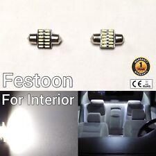 Festoon 31mm Dome Roof Light 6K LED Bulb DE3175 DE3022 DE3021 6428 6430 M1 M