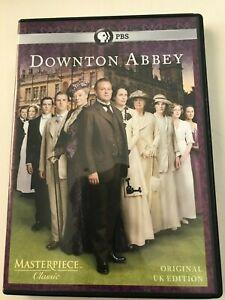 Downton Abbey DVD PBS Original UK Edition Region 1 NTSC