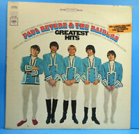 PAUL REVERE & THE RAIDERS GREATEST HITS LP 1967 GREAT CONDITION! VG+/VG+!!B
