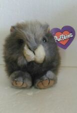 """1997 SWIBCO PUFFKINS COLLECTION NUTTY PLUSH 4.1/4"""" tall  NEW"""