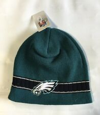 Philadelphia Eagles Knit Beanie Winter Hat Toque Skull Cap New logo and wordmark