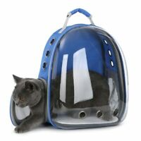 Pet Dog Cat Astronaut Backpack Space Capsule Breathable Outdoor Carrier Bag