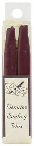 Genuine Sealing Wax With Wick For Brass Wax Sealing Stamps - Burgundy