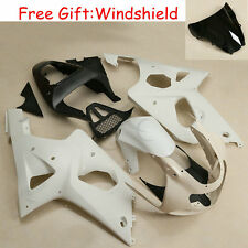 Unpainted ABS Fairing Set Body For Suzuki GSXR1000 GSXR 1000 2000-2002 2001 K1
