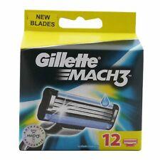 12 Gillette Mach3 Rasierklingen Ersatzklingen Klingen Mach 3 NEU OVP