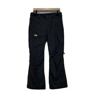 The North Face Womens Medium Ski Pants Black HyVent Snowboard Snow Pants EUC!