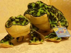Webkinz Lil Kinz Bullfrog and Webkinz Bullfrog, both New and unused codes