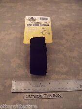 US Military - Raine, Inc. Covered Watchband , BLACK, Emergency/Survival, EDC