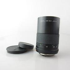 Für Praktica B Carl Zeiss P 2.8/135 MC Objektiv / lens