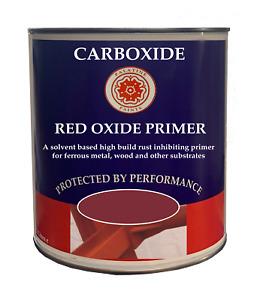 Red Oxide Primer High Build Primer for Metal and Wood 1lt | 2.5lt | 5lt