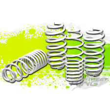 "1.25""DROP WHITE SUSPENSION LOWERING SPRINGS F+R for 06-12 VW GOLF RABBIT S/TDI/R"