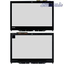 "Touch Screen Glass Digitizer for Toshiba Satellite Radius 14"" L40w-c With Bezel"