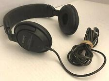 Vintage SONY MDR-CD666 Dynamic Stereo Headphones Japan DJ Studio Audiophile