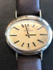 VINTAGE LADIES MOVADO MANUAL HAND WINDING 14K GOLD CASE