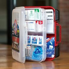 The First Aid Kit Emergency Medical Supplies Women Men Kids Safety Wall Mount