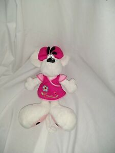 """12"""" cute soft diddlina mouse from diddl depesche  plush doll"""