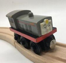 Thomas Wooden Railway Frank 2001 RETIRED Train Set Diesel Engine Car Face Wood