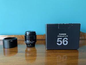 Fujifilm Fujinon XF 56mm F/1.2 R Lens - Black