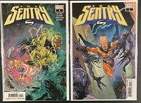 The Sentry #1 2nd print & #4 CAMEO AND ORIGIN, VOID, KNULL, CATES Marvel SPEC