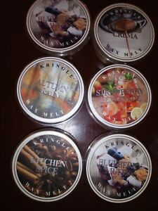 Assorted Lot of 6 Kringle Candle Company wax melts. pick a lot 1, 2 or 3. DM Me