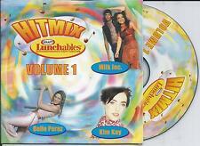 V/A - Hitmix Kraft Volume 1 CD SINGLE 3TR Eurodance Milk Inc Kim Kay Belle Perez