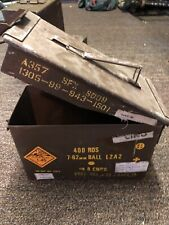Military Ammunition Box And Military Labelling