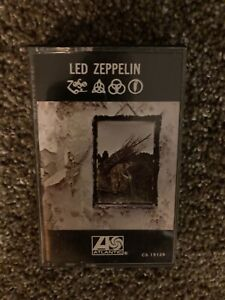 Led Zeppelin- IV - Cassette Tape - Atlantic CS 19129. VG+