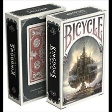 Bicycle Kingdoms (Red) Playing Cards Poker Spielkarten