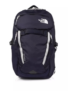 The North Face Men's Surge Backpack in Aviator Navy/Meld Grey NWT