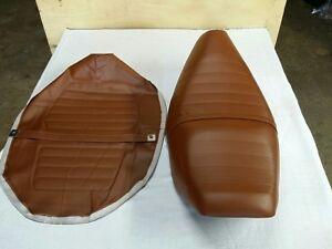 HONDA CH125 CH150 SEAT COVER ELITE 1984 MODEL SEAT COVER BROWN + STRAP (H327)