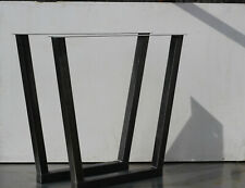 Industrial Metal  Trapezoid Steel Table Legs [24x26 inches]