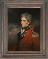 Old Master Art Antique Man Portrait Gentleman George Murray Oil Painting 20x24