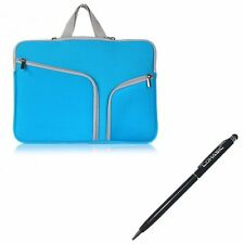 "LOHASIC Neoprene Water Resist Zipper Sleeve Bag Macbook Pro Retina 13"" Aqua Blue"