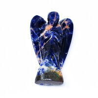 Best Quality 110.00 Carats Earth Mined Untreated Blue Sodalite Healing Angel