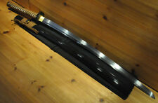 Hand Forged Japanese Samurai Sword Katana Shinken Mat Cutter Razor Sharp Blade