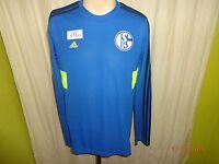 FC Schalke 04 Original Adidas Spieler Training Sweatshirt 2013/14 Gr.M