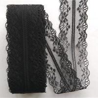 1 Roll Beautiful Handicrafts Embroidered Net Lace Trim Ribbon Lace Decor 10m