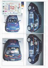 Decals 1/43e Peugeot 106 Rallye 1.3 Martino Sprint Ossola 2006