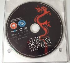 DVD: The GIRL with the DRAGON TATTOO - Rated 18